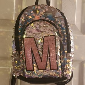 """Justice mini """"M"""" backpack"""